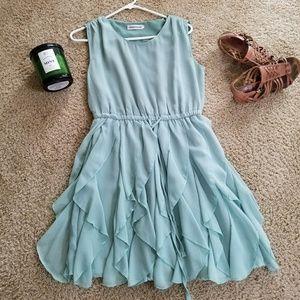Flowy Teal Spring/Summer Dress